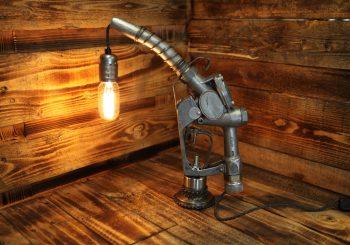 Husky Fuel Pump Nozzle Table Lamp