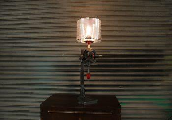 Vintage Pillar Drill Lamp
