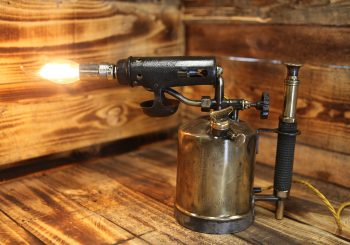 Swedish Primus No 615 Paraffin Blow Torch – Table Lamp